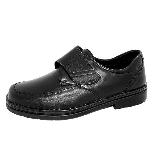 Capacidad para Plantillas ortopédicas y pies delicados. Forro Interior Especial para pies diabeticos. Mod. 2110: Amazon.es: Zapatos y complementos