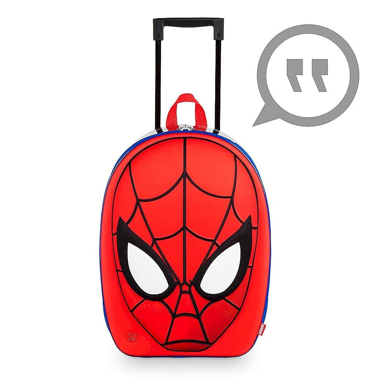 Amazon.com | Disney Amazing Spider-Man Rolling Luggage | Kids' Luggage