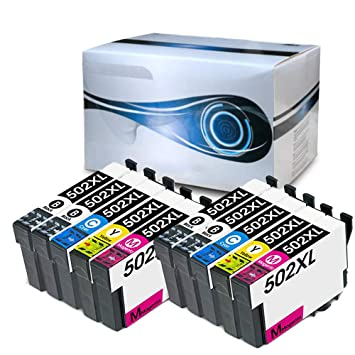 Alphaink AI-T502XL-KIT10 10 Cartuchos compatibles con EpsonT502XL ...