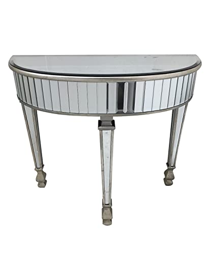 Astounding Interiors In Vogue Mirrored Console Dressing Table Silver Download Free Architecture Designs Photstoregrimeyleaguecom
