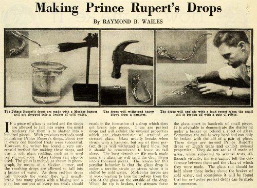1928-article-prince-rupert-drops-raymond-wailes-glass-meeker-burner-science-tear-original-print-arti