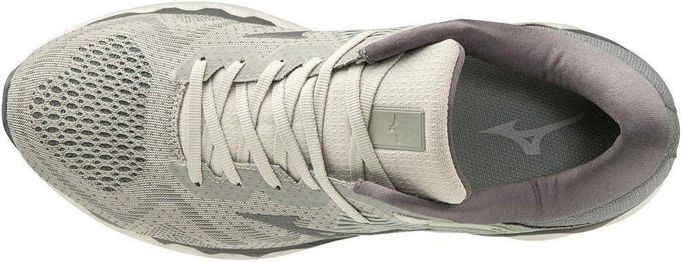 Mizuno Men's Wave Horizon 4 Road Running Shoe Pelican/steel Grey