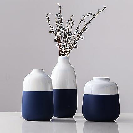 Amazoncom Bwlzsp 1 Set 3pcs Vase Modern Home Living Room Floral