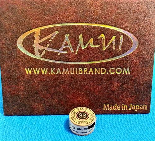 Kamui II ブラウン CUE TIP 14mm スーパーソフト B07GNT1M7T