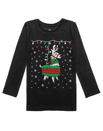 a3c0db792d23 Amazon.com  Llama Pinata Ugly Christmas Sweater Girls Toddler Long ...