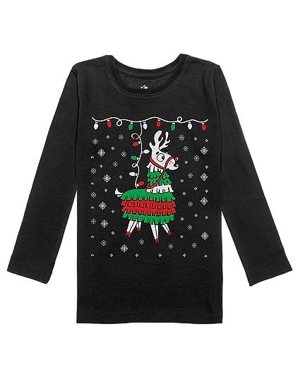 Amazoncom Llama Pinata Ugly Christmas Sweater Girls Toddler Long