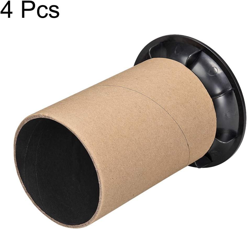 uxcell 93mm x 135mm Speaker Port Tube Subwoofer Bass Reflex Tube Bass Woofer Box 4pcs