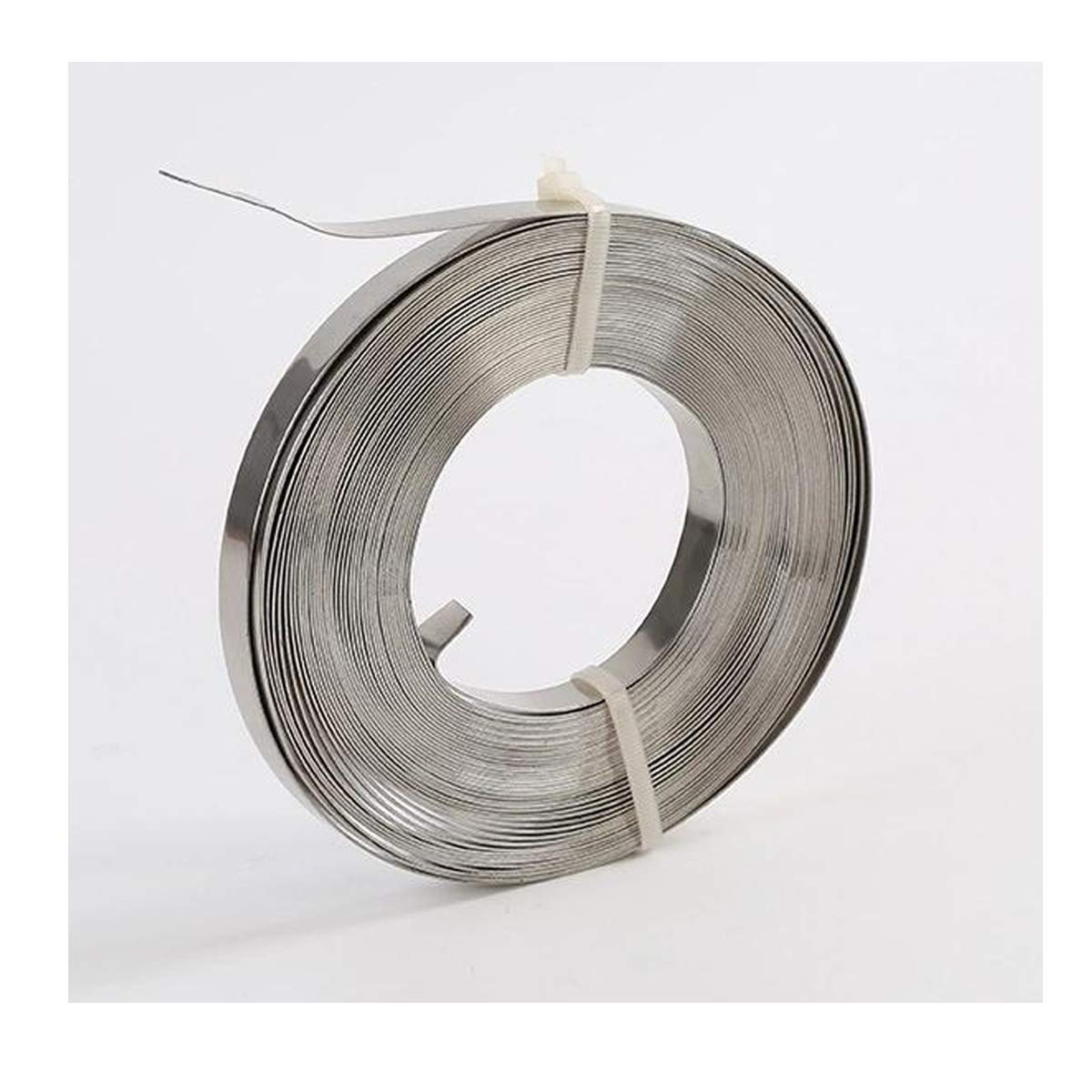 VOTOER 304 Stainless Steel Banding Strapping Band Strap Tools for Strapping 0.03'' Thick Coil, 100 Feet Roll (3/4'' Width)