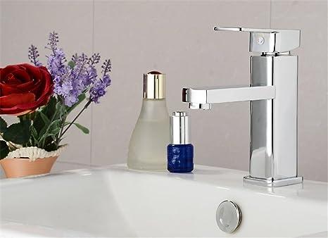 Cromo rubinetto miscelatore per lavabo angolare bagno lavabo