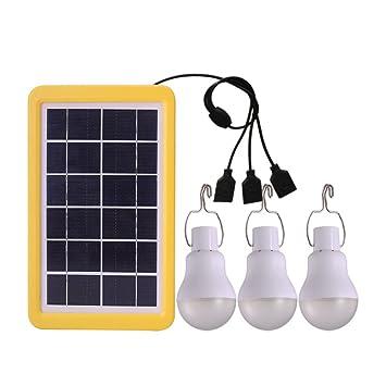 Mah Ampoule Portable Lampes Lampe 3 Alimenté Led 110lm 800 Solaires w8POknX0