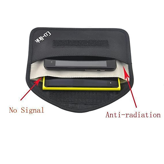 Security & Protection Anti-scan Card Sleeve Phone Bag Ok For 1-3 Phones Function Of Anti-tracking Anti-spying Jammer Bag Nfc Rfid Anti-scan Card Bag