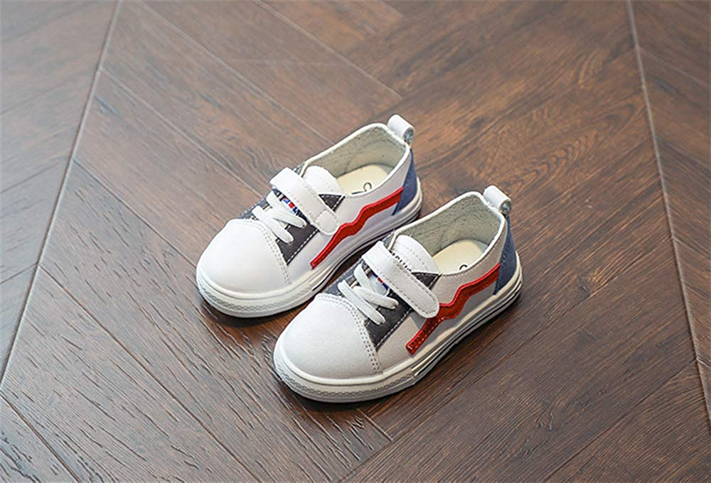 MINIKATA Kids Lightweight Sneakers Girls Casual Running Shoes