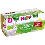 Omogeneizzato Hipp Coniglio con Verdure