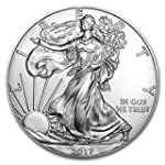 2017 1 Ounce American Silver Eagle Low Flat Rate Shipping 999 Fine Silver Dollar Uncirculated Us Mint
