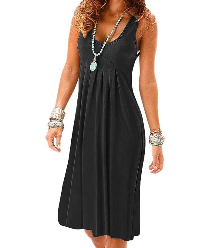 e4d03b926 10 lindos vestidos de verano para las mujeres que solo usan negro ...