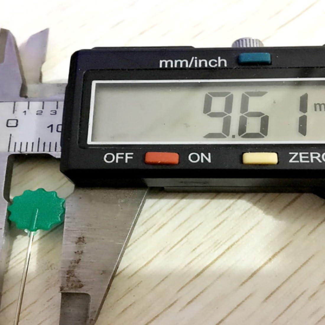 Patchwork-Kopf-Nadeln N/ähen Stricken Button section
