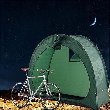 para Acampar al Aire Libre 200 x 85 x 165 cm Bicicletas de monta/ña al Aire Libre Aparcamiento Carpa Escombros Hogar Bodega con la Ventana de dise/ño QSCZZ Tienda de Bicicletas