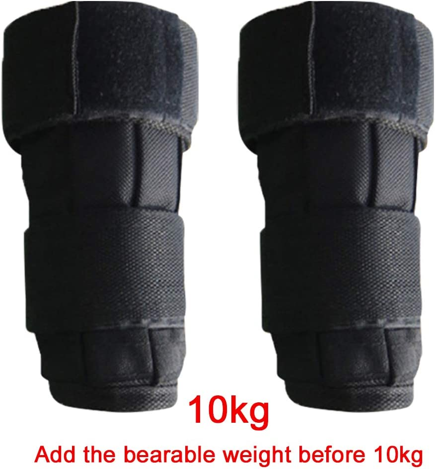 5//10kg Gymnastics for Adults Oxford Fabric Strap Fitness Strength Training for Jogging Aerobics Mworld2 1pair Strength Training Wrist//Ankle Weights Bag