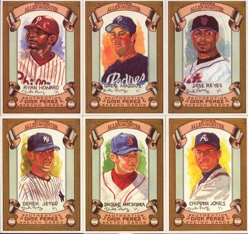 2007 Topps Derek Jeter (2007 Topps Allen + Ginter Baseball Series 30 Card