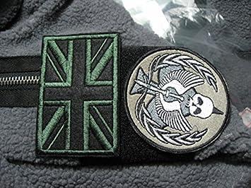 COD MW2 MW3 TF141 British Flag patch set million jack handle