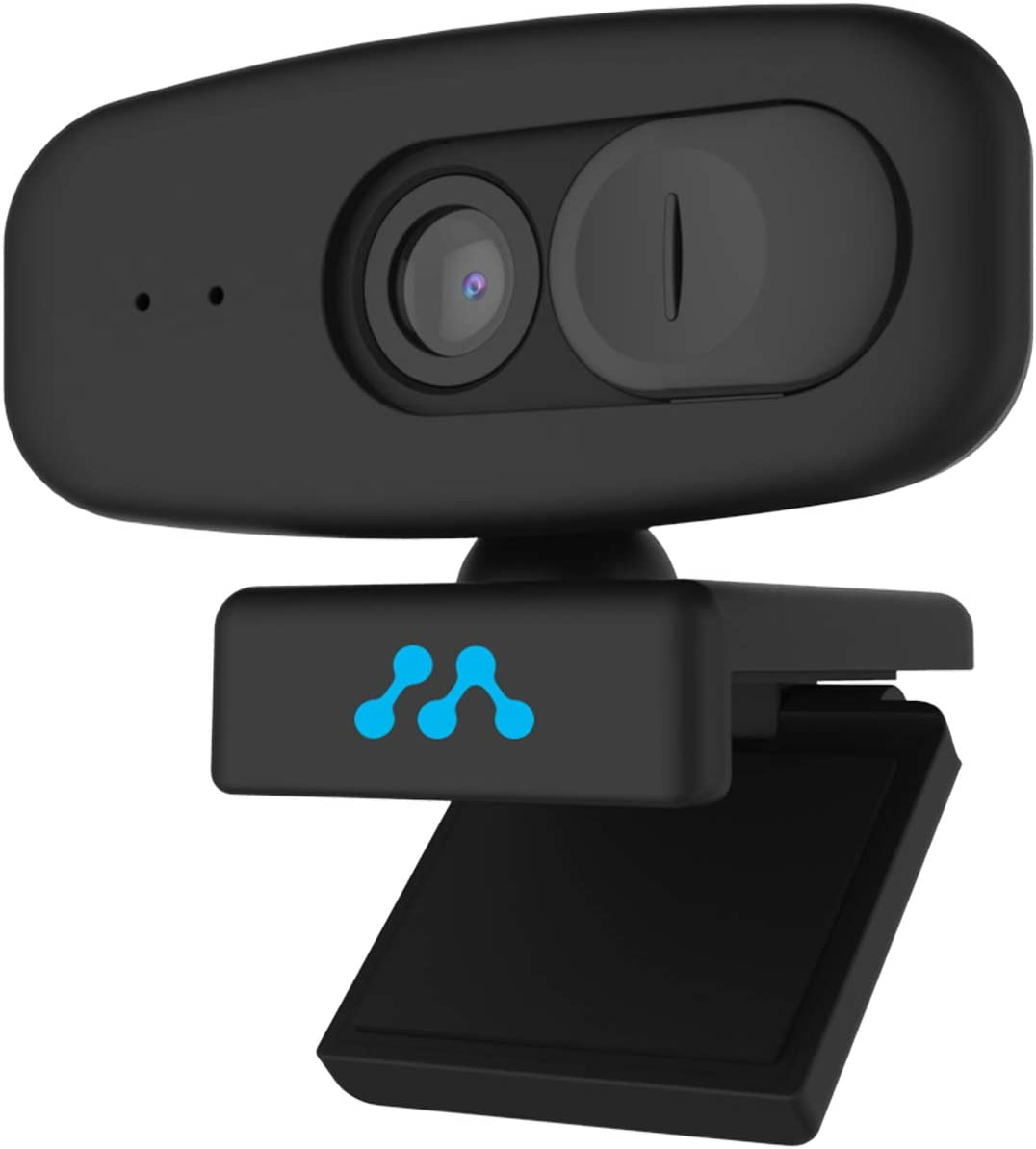 Momentum HD 1080P Wide Angle Webcam with Built-in Mic and Privacy Cover | 2.0 USB Plug and Play Set-Up | Window and Mac Compatible