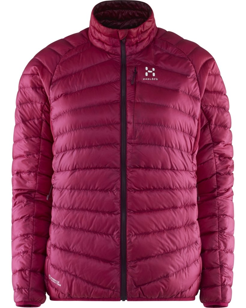 Haglöfs Down Jackets Essens Iii Down Jacket Women Pink / Aubergine S