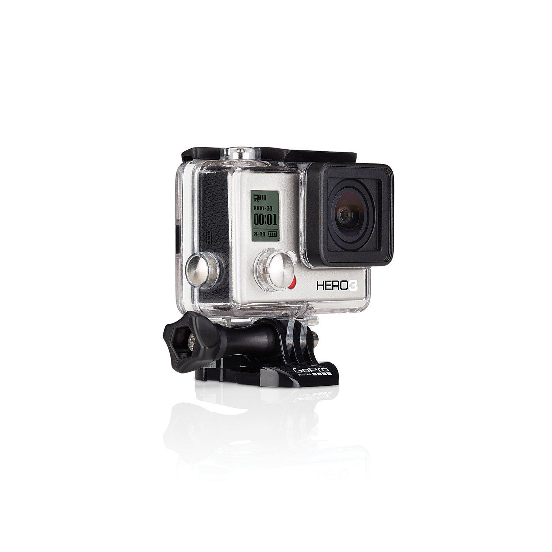 【国内正規品】 GoPro ウェアラブルカメラ HERO3 ホワイトエディション(40m防水ハウジンク゛Ver.) CHDHE-301-JP2   B00J8DI2FA