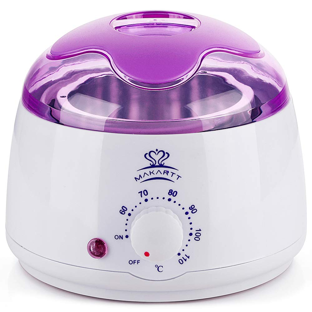 Makartt Hot Wax Warmer, Hard Wax Heater Pot, Mini Hair Removal Machine