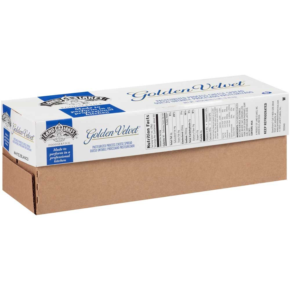 Land O Lakes Golden Velvet White Cheese - Spread, 5 Pound -- 6 per case. by Land O Lakes (Image #1)