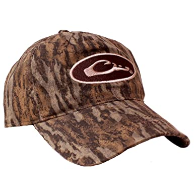98efd71ca706f Drake Waterfowl Camo Cotton Cap at Amazon Men s Clothing store