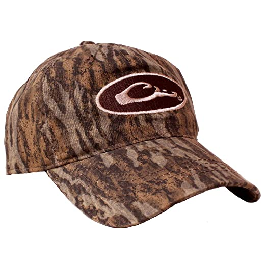 12a7cbe881d Drake Waterfowl Camo Cotton Cap at Amazon Men s Clothing store