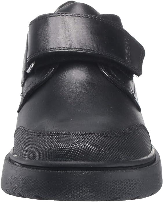 G Touch Fastening Shoe Black Geox Kids J Riddock B