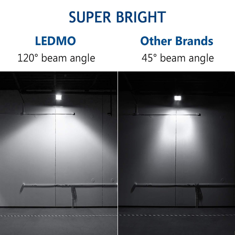 IP65 Waterproof 3000K Warm White Landscaping Construction Spot Light,Floodlight Landscape Lights,Garage and Yard EZON EZ873 LEDMO 30W LED Flood Light