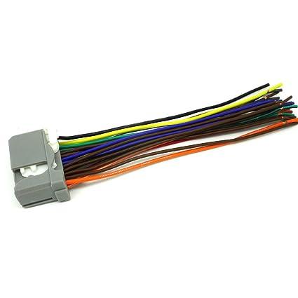 amazon com conpus honda car stereo cd player wiring harness wire honda ridgeline strut bearing conpus honda car stereo cd player wiring harness wire aftermarket radio install 2009 2012 honda