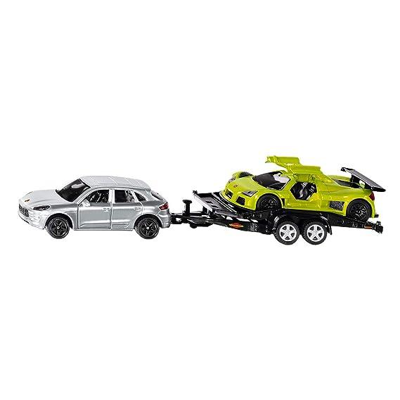 SIKU 2544 - Con remolques de transporte de coches (colores surtidos): Amazon.es: Juguetes y juegos