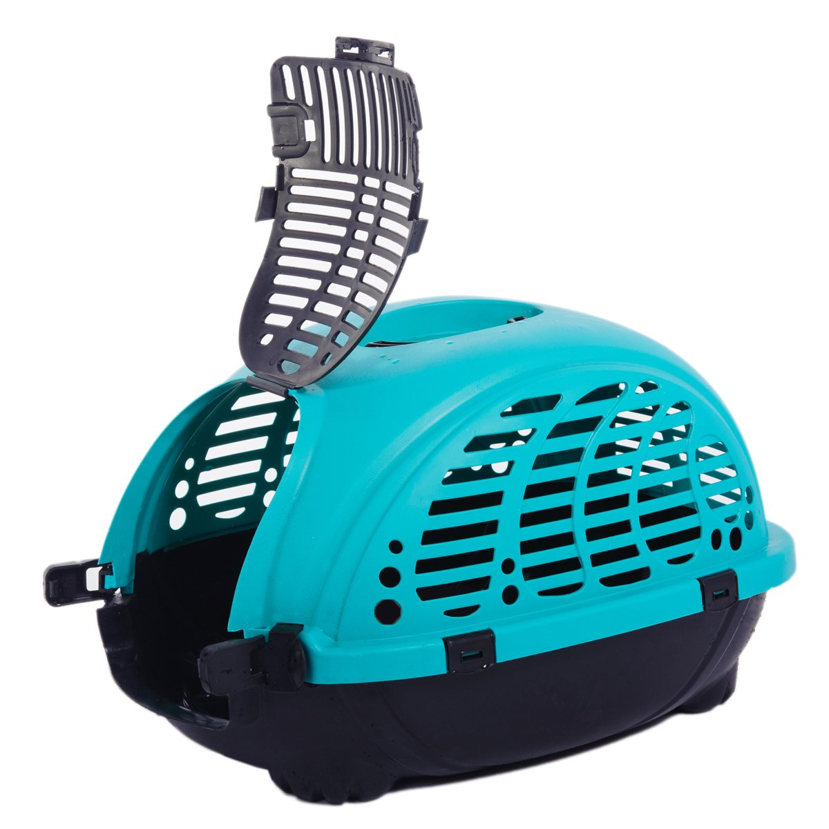 Favorite Cart Travel Portable Small Animal Cat Dog Pet Carrier, Blue