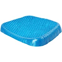 Bloodyrippa Gel Seat Cushion, Breathable Honeycomb Construction, Provides Excellent Support for Lower Back, Spine, and Hips, Promotes Circulation and Good Sitting Posture