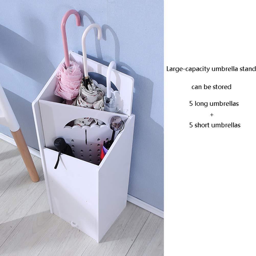 portaombrelli Lungo//Corto per LUfficio Principale della Hall dellhotel MY1MEY Portaombrelli Bianco Quadrato con Vassoio antigoccia Colore: Stile 1 Stile Opzionale
