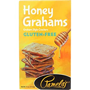 Pamela's Products -Graham Crackers Honey - 7.5 Ounce (Pack of 2)