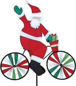 Premier Kites 20 in. Bike Spinner - Santa