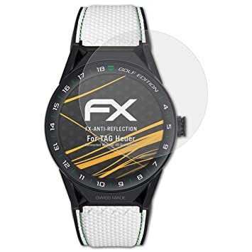 atFoliX Protecteur décran pour TAG Heuer Connected Modular 45 Golf Edition Film Protection d