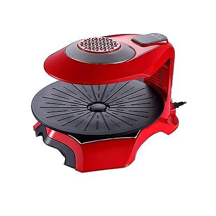 Z@SS Interior Parrilla Eléctrica Sin Humo Infrarrojo De Calor Roaster Powered Rotación con Tiempo