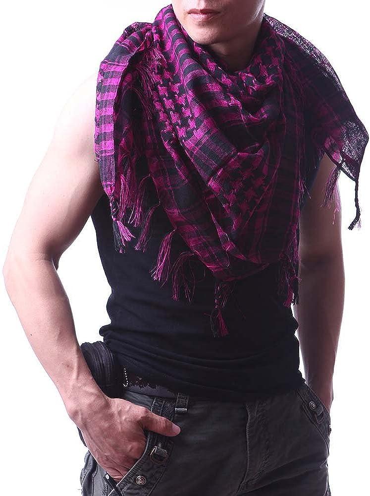 Sri Belha Fashions Unisex Chequered Arab Arafat Shemagh Kafiyah Scarf