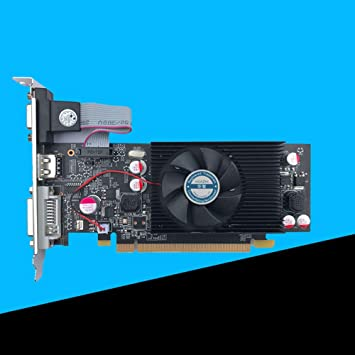 ETbotu Geforce Chipset Video Graphics Card GT610 1GB DDR2 for PC and LP Case