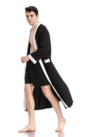 Like2Sea Waffle Robe for Men 5a317b050