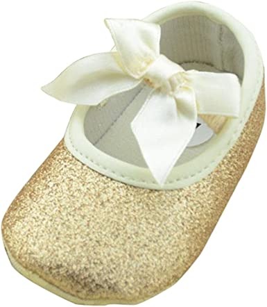 GIRLS INFANTS FAUX LEATHER MARY JANE GRIP SOLE FLOWER DETAIL BLACK SIZE UK 6-9