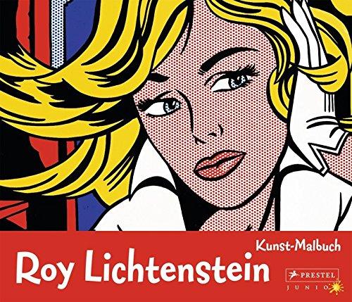 Kunst-Malbuch: Roy Lichtenstein