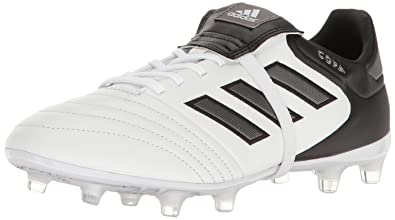 84cbe24a6 adidas Men's Copa Gloro 17.2 Firm Ground Cleats Soccer Shoe, White/Night  Metallic/