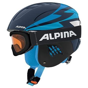 ALPINA A9095381 Cascos, Niños, Azul Nocturno, Talla Única: Amazon.es: Deportes y aire libre