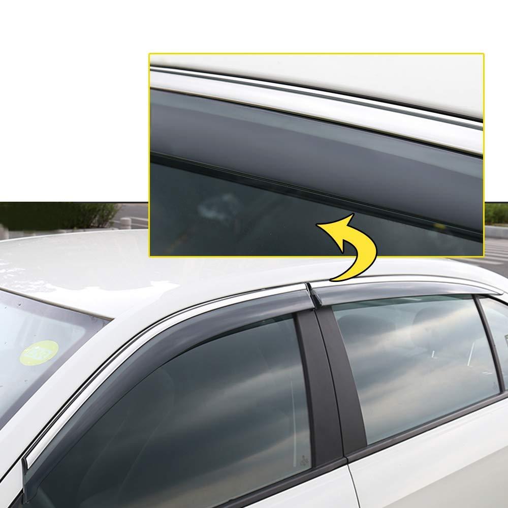Tuqiang Side Window Deflector For K ia SPORTAGE R 2018 2019 Original Window Visors Sun Rain Guard 4Pcs